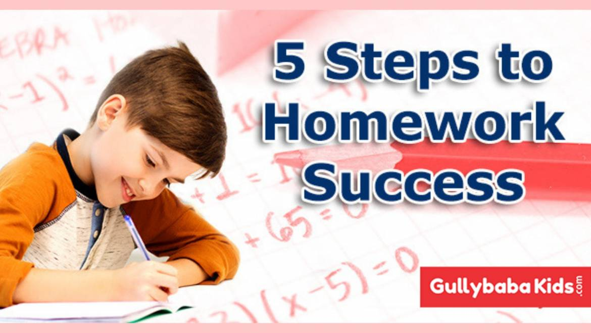 5 Steps to make the Homework of your Child free from Boredom