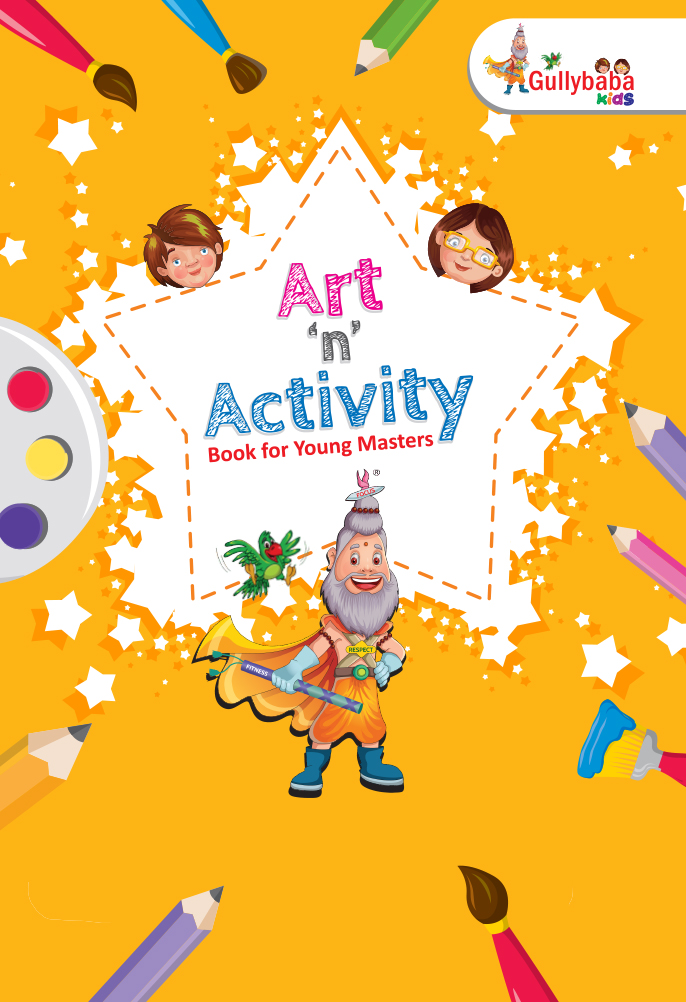 """""""Elementary Art Lesson For Kids"""" Coming Soon On Gullybaba Kids"""