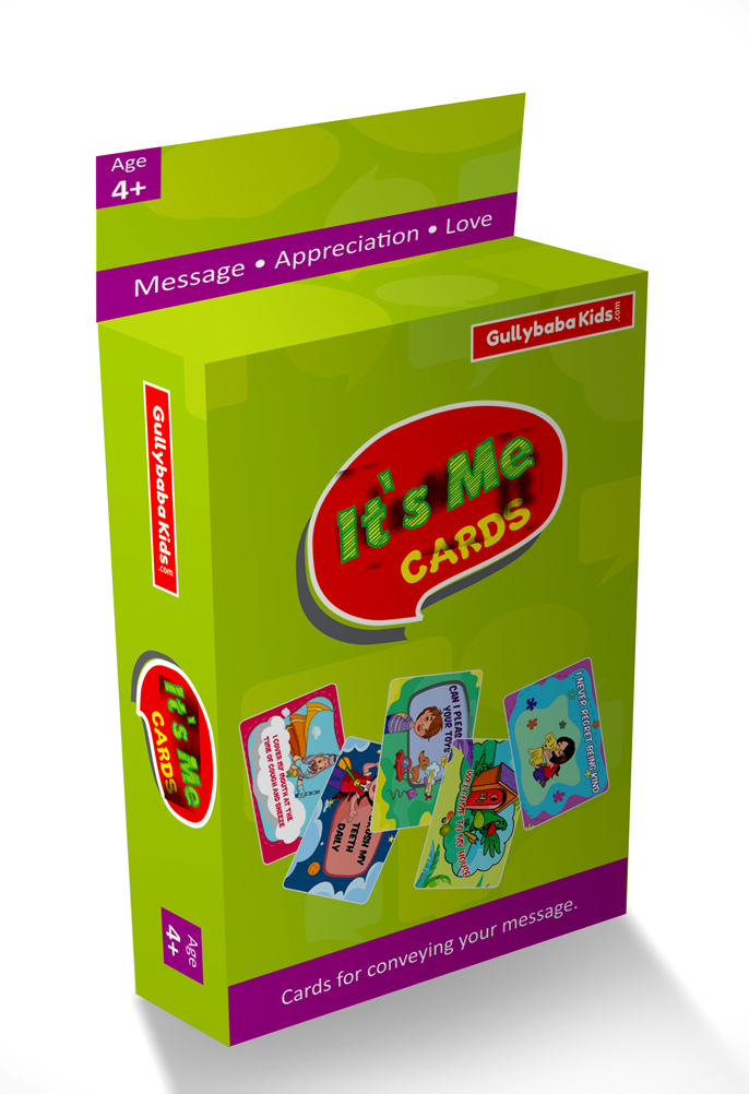 "It's Me Educational Cards Game ""Best Gifts for kids"""