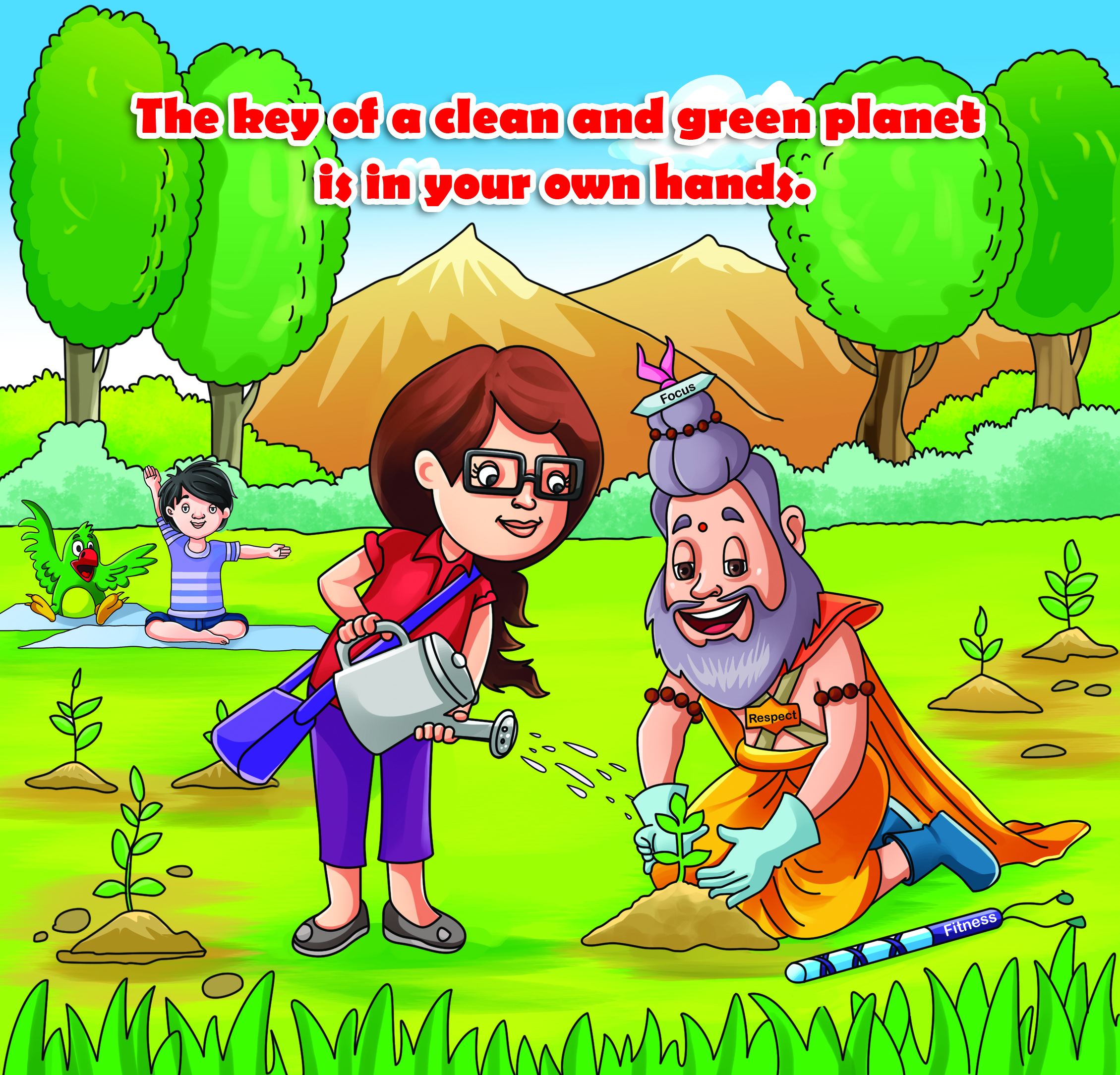 """""""Environmental Awareness"""" Puzzle Games for kids Is available on Gullybabakids.com"""