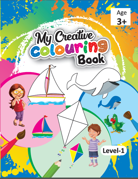 Available Art Drawing Book in Gullybaba Kids Shop.