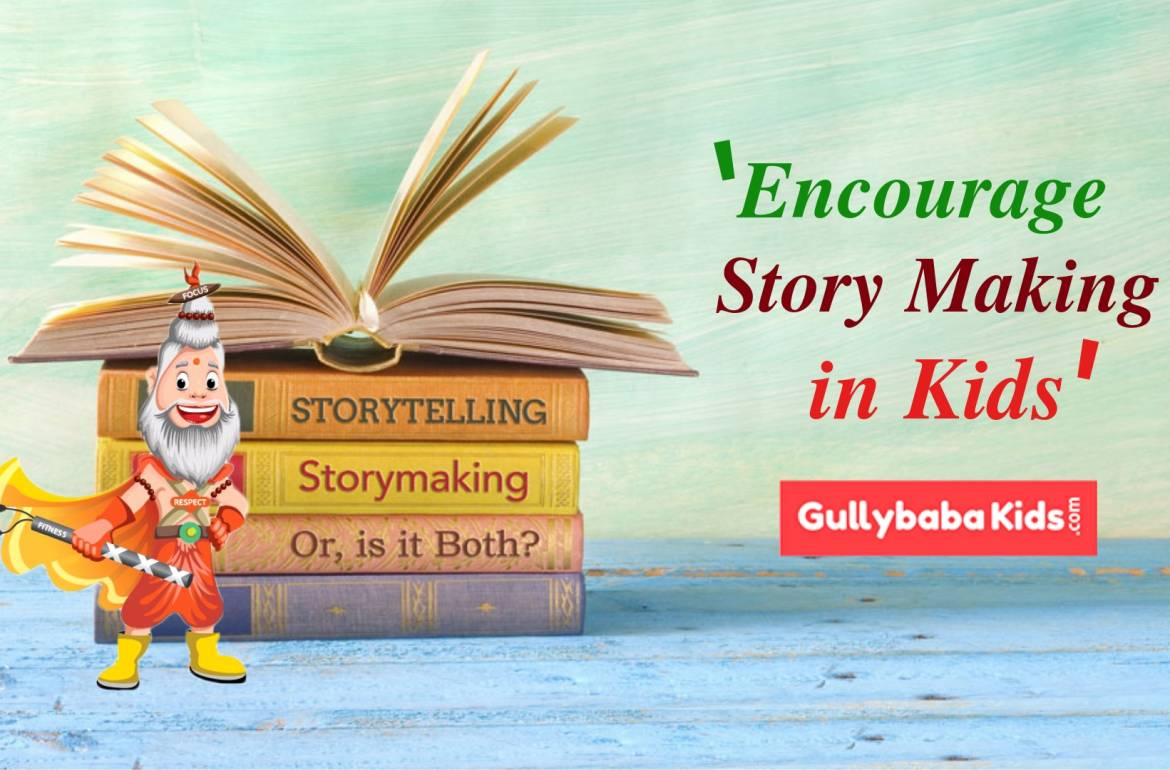Story Making is now a Play for Your Kids